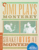 Jimi Plays Monterey / Shake! Otis At Monterey: The Criterion Collection Blu-ray