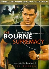Bourne Supremacy, The (Fullscreen) Movie