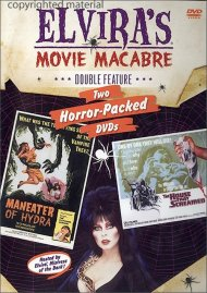 Elviras Movie Macabre: The House That Screamed / Maneater Of Hydra Movie