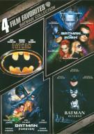 4 Film Favorites: Batman Collection Movie