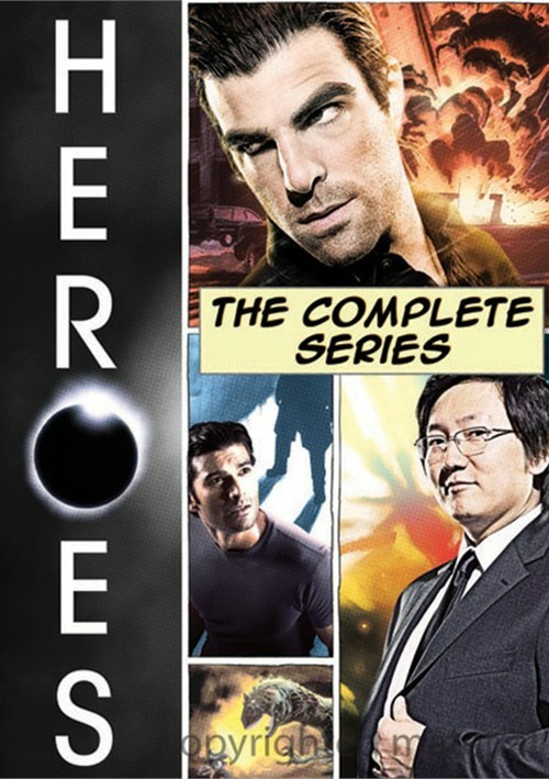Heroes: The Complete Series Movie
