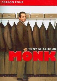 Monk: Season Four (Repackage) Movie