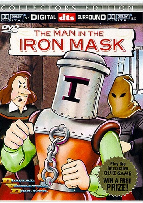 Man in the Iron Mask, The (DVD, Ltd.) Movie