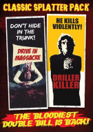 Classic Spatter Pack: The Drive-In Massacre / The Driller Killer (Double Feature) Movie
