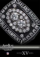 NFL Americas Game: 1980 Oakland Raiders Super Bowl XV Movie