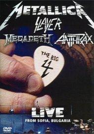 Metallica / Slayer / Megadeth / Anthrax: The Big 4 - Live From Sofia, Bulgaria Movie