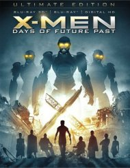 X-Men: Days Of Future Past - Deluxe Edition (Blu-ray 3D + Blu-ray + UltraViolet) Blu-ray