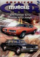 American Muscle Car: 64 Pontiac GTO / Pontiac GTO Judge Movie