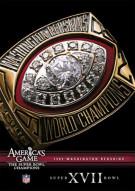 NFL Americas Game: 1982 Washington Redskins XVII Movie