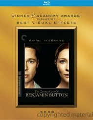 Curious Case Of Benjamin Button, The: The Criterion Collection (Academy Awards O-Sleeve) Blu-ray