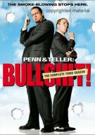 Penn & Teller: Bullshit! The Complete Season 3 (Uncensored) Movie
