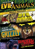 Evil Animals Triple Feature: Grizzly / Day Of The Animals / Devil Dog Movie