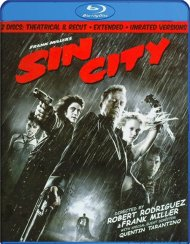 Sin City: Unrated, Recut & Extended Blu-ray