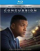 Concussion (4K Ultra HD + Blu-ray + UltraViolet) Blu-ray