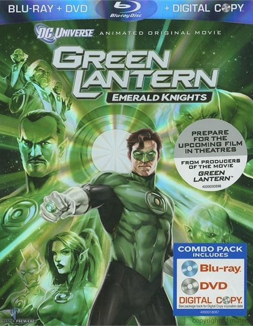 Green Lantern: Emerald Knights (Blu-ray + DVD + Digital Copy) Blu-ray