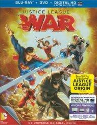 Justice League: War (Blu-ray + DVD + UltraViolet) Blu-ray