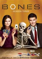 Bones: Season Three - Totally Decomposed Edition (Repackage) Movie