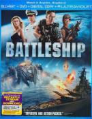 Battleship (Blu-ray + DVD + Digital Copy + UltraViolet) Blu-ray