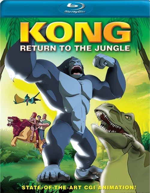 Kong: Return To The Jungle Blu-ray