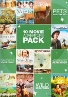 10 Features Adventure 10 Pack (Family) Movie