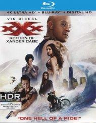 xXx: Return of Xander Cage  (4K Ultra HD + Blu-ray + UltraViolet)   Blu-ray