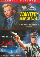 Wanted: Dead Or Alive / Death Before Dishonor (Double Feature) Movie