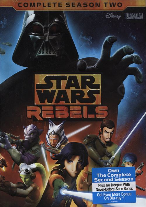 Star Wars Rebels The Complete Second Season Dvd  Dvd -4500