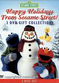 Happy Holidays From Sesame Street: 3 DVD Set Movie