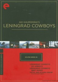 Aki Kaurismakis Leningrad Cowboys: Eclipse From The Criterion Collection Movie