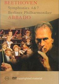 Abbado Beethoven Series, The: Symphonies Nos. 4 & 7 Movie