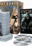 King Kong: Deluxe Extended Edition Collectors Set Movie