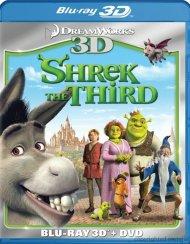 Shrek The Third 3D (Blu-ray 3D + DVD Combo) Blu-ray