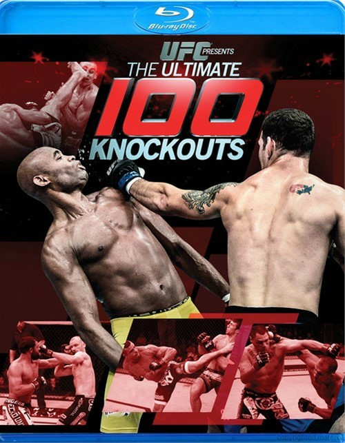 UFC Presents: The Ultimate 100 Knockouts Blu-ray