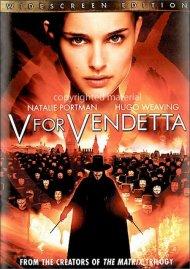 V For Vendetta (Widescreen) Movie