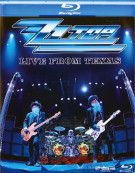 ZZ Top: Live From Texas Blu-ray