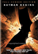 Batman Begins (Fullscreen) Movie