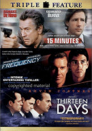 15 Minutes / Frequency / Thirteen Days (Triple Feature) Movie