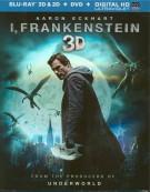 I, Frankenstein 3D (Blu-ray 3D + Blu-ray + DVD + UltraViolet) Blu-ray