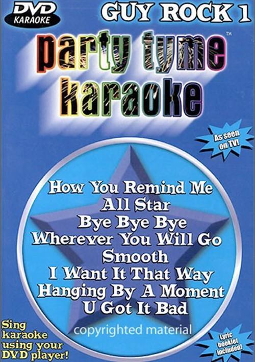 Party Tyme Karaoke: Guy Rock 1 Movie