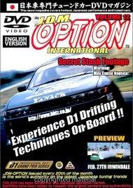 JDM Option International: Volume 12 - Pro Drifting Movie