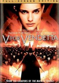 V For Vendetta (Fullscreen) Movie