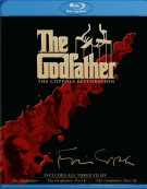 Godfather Collection, The: The Coppola Restoration Blu-ray