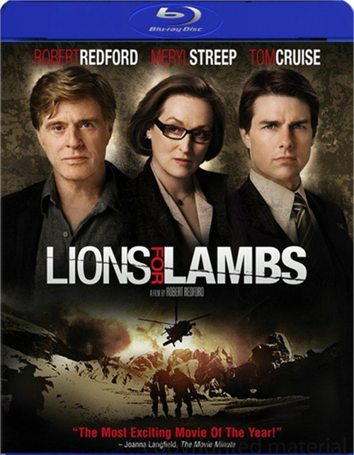 Lions For Lambs Blu-ray