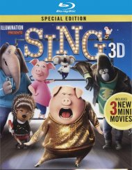Sing (Blu-ray 3D + Blu-ray + UlrtaViolet)  Blu-ray