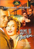 Crime Of Passion Movie
