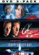 Sci-Fi 3 Pack: Chain Reaction / X-Files / Independence Day Movie