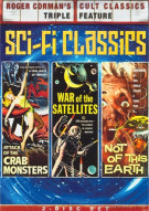Attack Of The Crab Monsters / War Of The Satellites / Not Of This Earth (Triple Feature) Movie