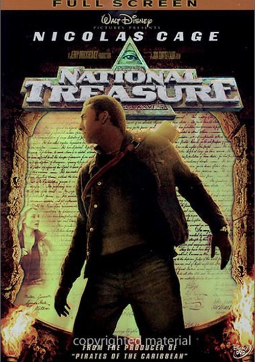 National Treasure (Fullscreen) Movie