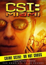 CSI: Miami - The Complete Third Season Movie