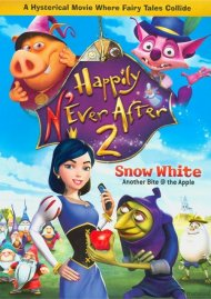 Happily NEver After 2: Snow White (Valentines Day Faceplate + Cards + DVD) Movie